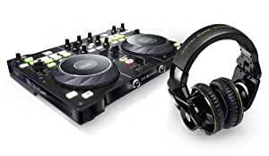Hercules DJ 4 Set (USB, 4-Kanal) mit DJ-Adv G501 Kopfhörer