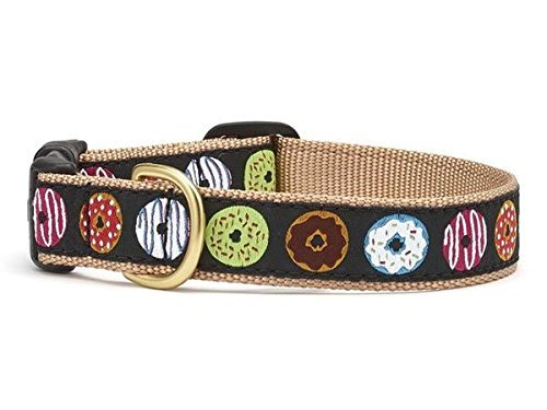 Up Country DNT-C-M Donuts Hundehalsband, Breit 1 inch, M (Up Country Hundehalsbänder)