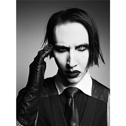 Marilyn Manson Poster On Silk <60cm x 81cm, 24inch x 32inch> - Affiche de Soie - 3F2783