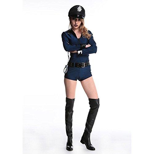 Preisvergleich Produktbild TYERY Polizei Frau Sexy Kleidung, Fig., L