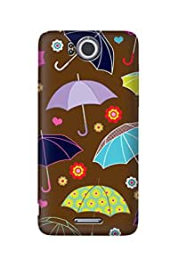 ZAPCASE PRINTED BACK COVER FOR INFOCUS M530- Multicolor