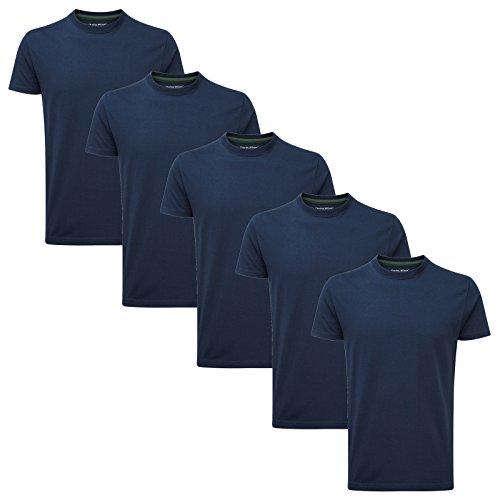 Charles Wilson Paquete 5 Camisetas Cuello