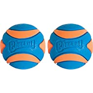 Chuckit Ultra Squeaker Ball, Medium, Pack of 2
