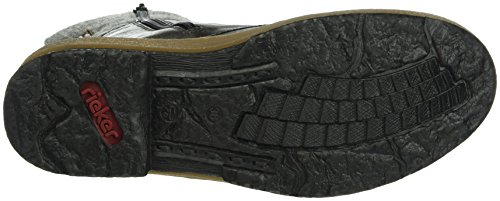 Rieker Z6714, Stivali Donna Grigio (Fumo/dunst/grau/mogano)