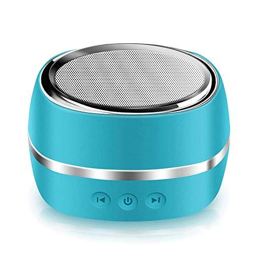 wangli Handy Drahtloser Bluetooth Lautsprecher Tragbarer Outdoor Mini Subwoofer Bluetooth Audio,Blue -