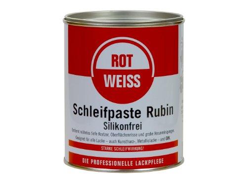 Rotweiss Schleifpaste Rubin 750 ml