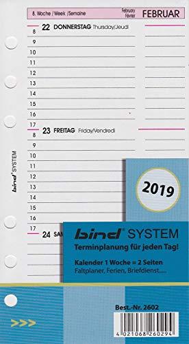 bind B260219 Kalendereinlage