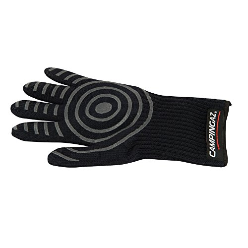 Campingaz Premium 5-Finger Grillhandschuh, hitzebeständige Ofenhandschuhe bis 350 Grad, Backofenhandschuhe für Grill und Küche