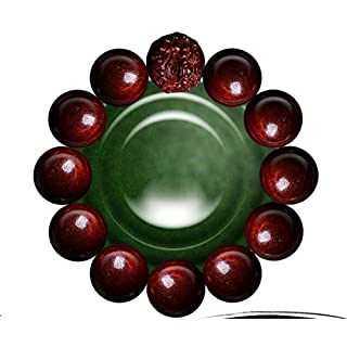 ATR Heutigen Staub Pavillon Indien High-Density Alten Material Lobulären Rosenholz Armband Sandelholz 108 Perlen 貔貅 Armband Wenwan Männer Und Frauen,C,Armband