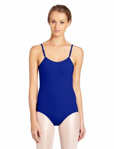 Jazz Custom Kostüm - Capezio Damen Gymnastikanzug mit verstellbaren Trägern - Blau - X-Small