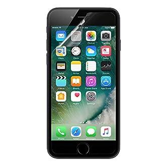 Belkin ScreenForce Proteggi Schermo Pellicola in Plastica per iPhone 6, 6S, 7 e 8, Confezione da 2 Pezzi, Trasparente