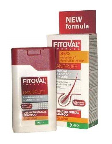 Fitoval Anti-Schuppen Dermatologische Shampoo mit Extrakten von Rosmarin und Arnika, D-Panthenol, klimbazol und ihtiol (100ml)