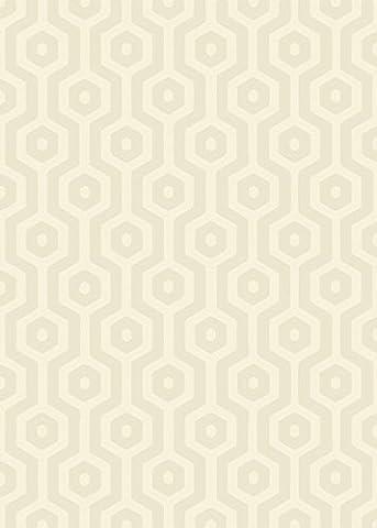 Modern Designer carpet ENNS Rug 160x230cm EC03 Geo Geo Cream Cream 100% POLYPROPYLENE