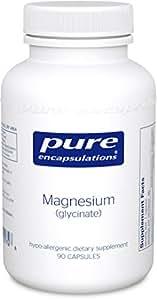 Magnesium (Glycinate) 120 mg 90 veg. Kapseln PEU