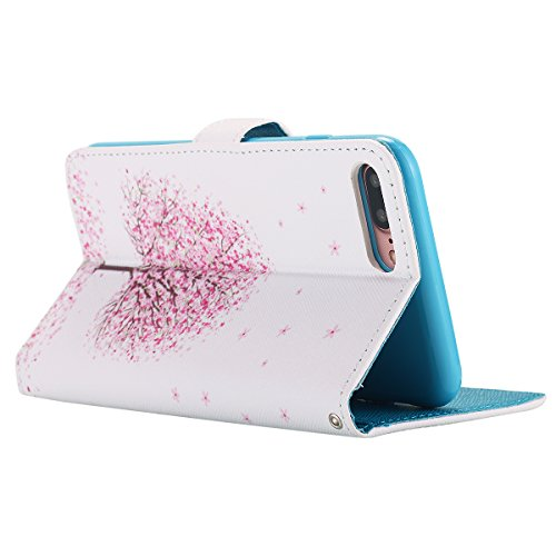 iPhone 7 Plus cellulare, iPhone 7 Plus Case, motivo lontect Fn1415 PU Pelle Stand spazio percussione accessori per Case Cover con supporto carte Steckplatz per Apple iPhone 7 Plus sukura