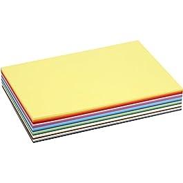 Colortime, Risma di fogli colorati, A4 21 x 30 cm, 30 pz, colori assortiti