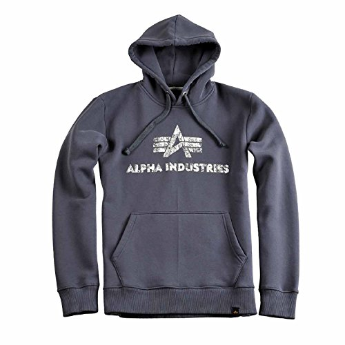 Alpha Industries - Blouson - Manches Longues - Homme GreyBlack