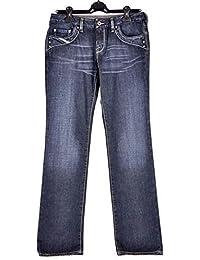 a6990be9 Diesel Women's Straight Jeans Blue Denim Blue UK 4