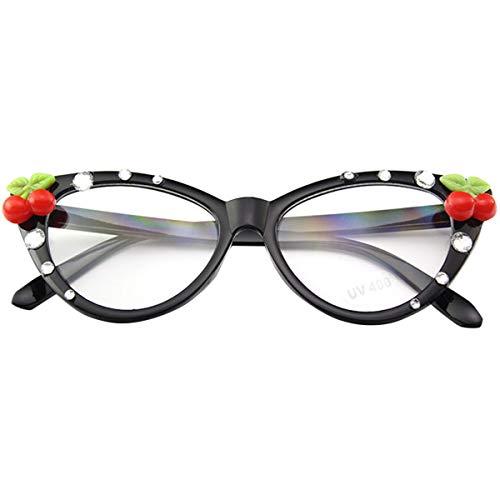 Amosfun Hawaiian Party Sonnenbrille Lustige Brille Strand Tropische Luna Themen Party Foto Requisiten Schwarz