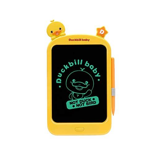 Tablero de Dibujo electrónico de los niños del teléfono, Escritura de la Pantalla de la protección de los Ojos con el Conjunto de la Regla,iseal Regalo a los niños (A)