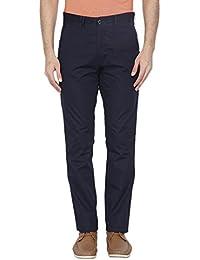 Park Avenue Men's Slim Fit Casual Trousers