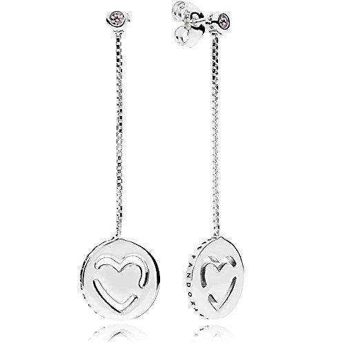 Pandora orecchini a perno donna argento - 296577fpc