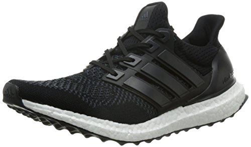 quality design 76429 89d52 adidas Ultra Boost M - Zapatillas de running para hombre, color negro    amarillo, talla 41 1 3