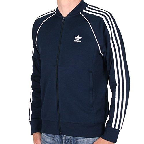 adidas Herren Sst Originals Track Jacke, blau (Collegiate Navy), S