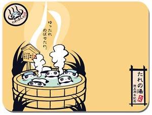 Preisvergleich Produktbild Tara Badteppich Onsen Kawaii Panda Mousepad Mauspad japanische Animation