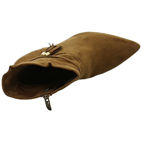 Tamaris Damenschuhe 1-1-25369-27 Damen Stiefeletten, Boots, Stiefel Cognac