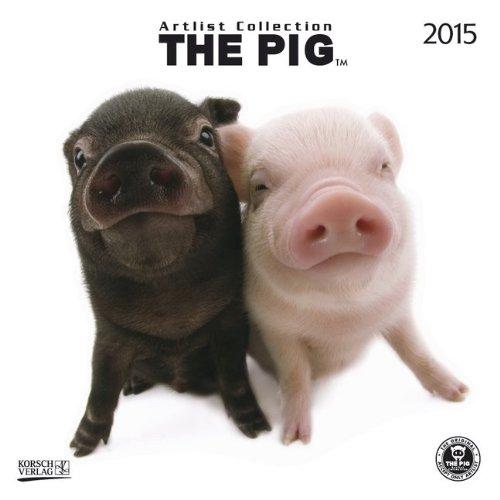 The Pig 2015: Broschürenkalender mit Ferienterminen