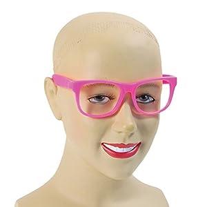 Pink Rim Specs Plastic (disfraz)
