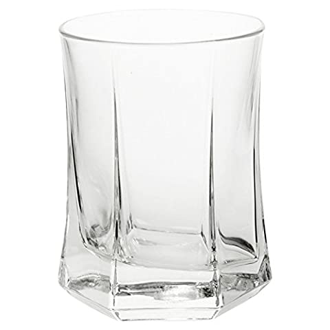 Bormioli Rocco Large Tumblers Drinking Glass Glasses Cups - Set of 12 - Made In Italy