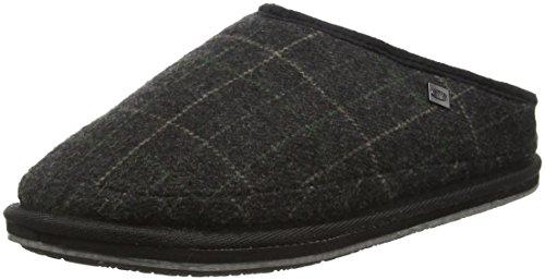 Animal Herren Ollie Pantoffeln Grau (asphalt Grey)