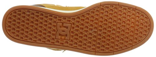DC Shoes Crisis High WNT, Scarpe da Ginnastica Basse Uomo Marrone (Wheat/dk Chocolate)