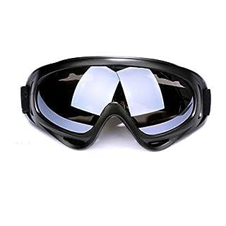 Andux Zone Jagd Airsoft X400 Wind Staubschutz Tactical Schutzbrille-Motorrad Brille GL-04 (grey)