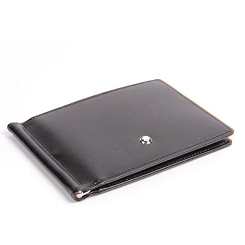 Montblanc Meisterstuck Wallet 4cc with Money Clip and View Pocket LOC