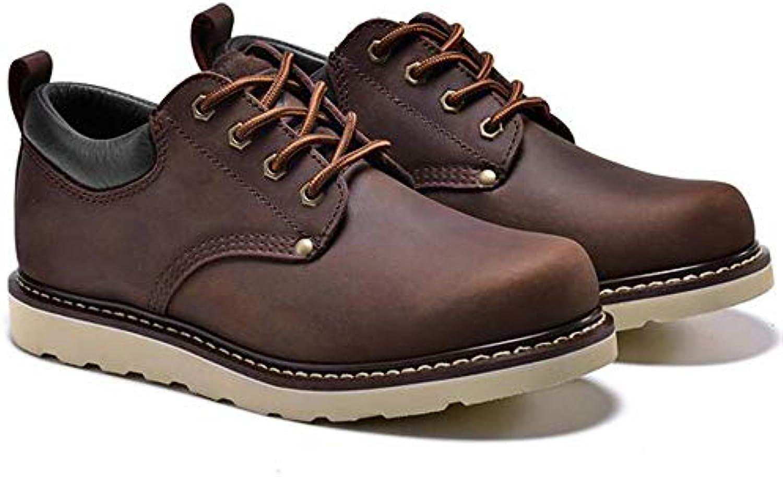 Martin Chaussures Hiver Et Automne Bottes Long Wang Homme IgF751