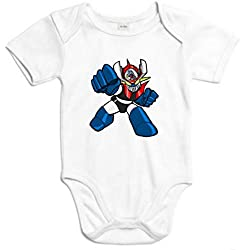 The Fan Tee Body de NIÑOS Mazinger Z Anime Manga Retro 18Meses