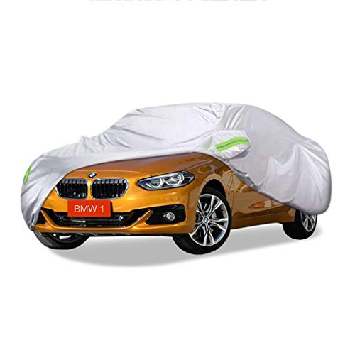 SXET-Car Cover BMW 1 Car Cover Series Special Dust Cover Oxford Cloth UV Waterproof Anti-scratch Four Seasons Universal Windshield Cover (color: BMW 120I)