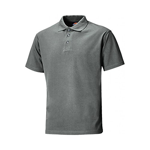 Dickies Mens Workwear Polo Shirt Bottle Green SH21220BO Bottle Green