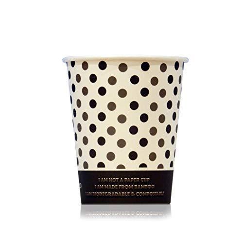 iologisch abbaubare Bambus-Kaffeebecher, 227 ml, 50 Stück ()