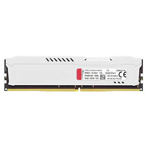 HyperX HX426C16FW/16, 16 GB 2666 MHz DDR4 CL16 DIMM 1.2 V 288 Pin Memory Kit, White Special