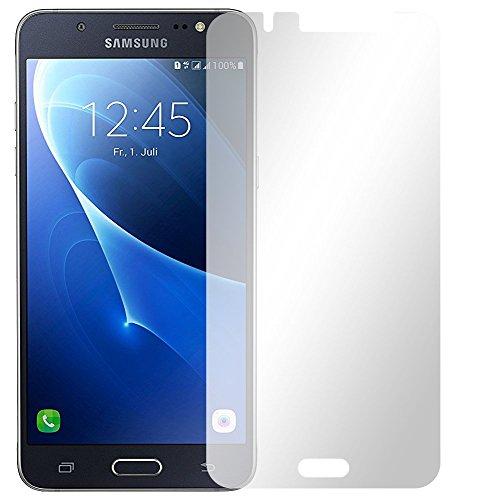Slabo 4 x Bildschirmschutzfolie für Samsung Galaxy J5 (2016) SM-J510F Bildschirmfolie Schutzfolie Folie Zubehör Crystal Clear KLAR - unsichtbar Made IN Germany