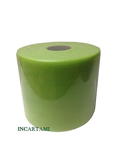 Baratti 880 tulle 12,5 cm bobina da 100 metri (verde chiaro)