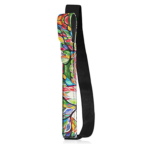 Fintie Apple Pencil Halter - Premium Kunstleder Hülle mit USB-Adapter-Tasche, kompatibel mit iPad Pro 9,7, iPad Pro 10.5 & iPad Pro 12.9 Schutzhüllen, Liebesbaum