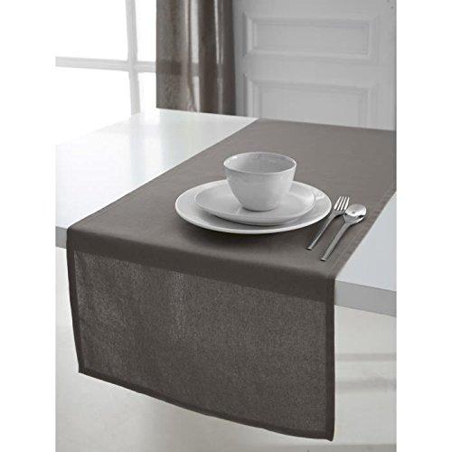 Today 257557 Chemin de table Coton Mastic 50 x 150 cm