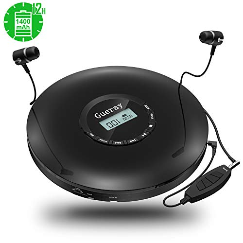 Gueray CD Player Portable with 1...