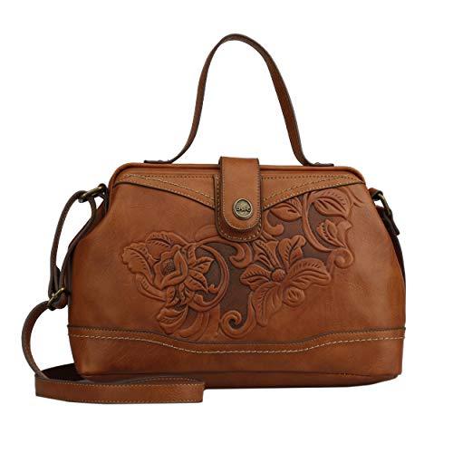 Polaris Frame Satchel-Embellished Aesthetic-Vegan Leather - Frame Satchel