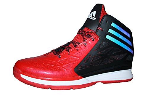 Adidas Performance Crazy Fast 2 Herren Basketball Schuhe G99384 Rot/Schwarz